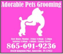 Adorable Pet Grooming - no URL available